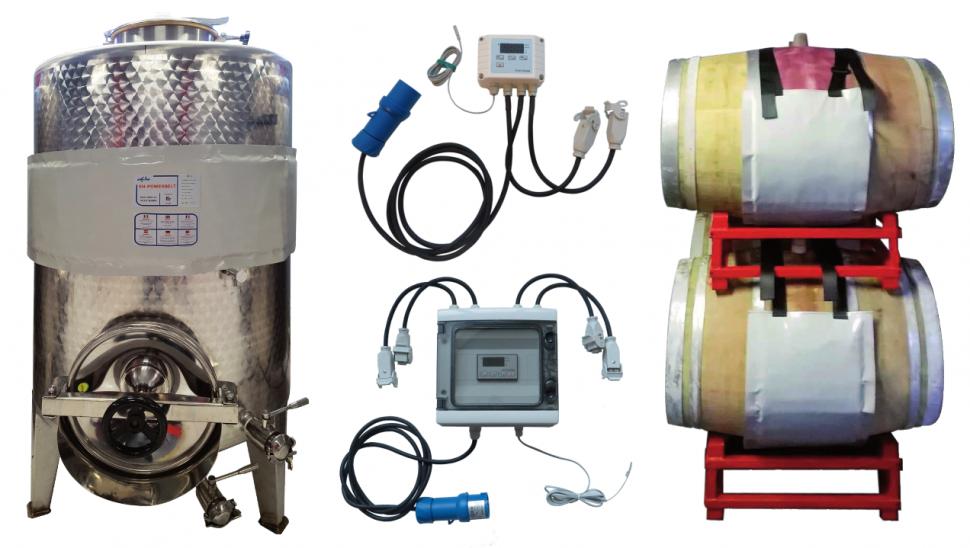 Riscaldamento fermentazione alcolica e malolattica
