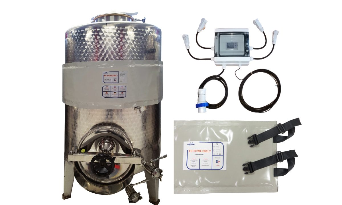 Riscaldamento per serbatoi vasche silos e cisterne